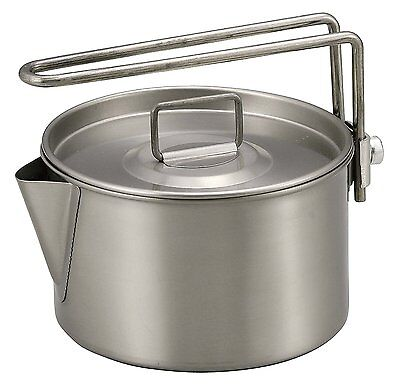 Captain Stag Barbecue Pot Titanium Kettle Cooker 900ml M-9082 F/S japan w/Track