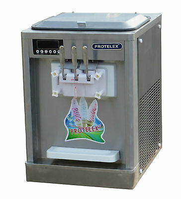 Eismaschine Softeismaschine Eiscreme Frozen Yogurt  Maschine T