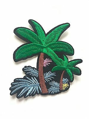 Ecusson Patch PALMIER SUMMER HOLIDAY thermocollant custom fun DIY