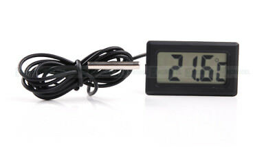 Home Brew LCD Digital Probe Embedded Thermometer Fridge Freezer Keg Beer AU  Fre