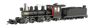 Bachmann 29002 On30 Painted & Unlettered 2-4-4-2 Steel Cab w/DCC
