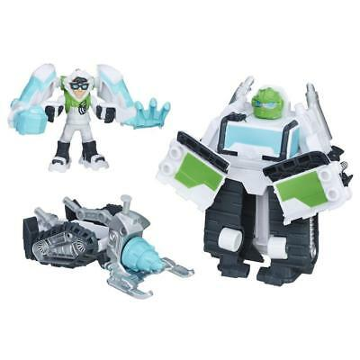 NEW Playskool Heroes Transformers Artic Boulder Rescue Bots Windchill Figure