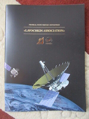 2015 Plaquette Lavochkin Association Roscosmos Satellite Space Luna Moon Planete