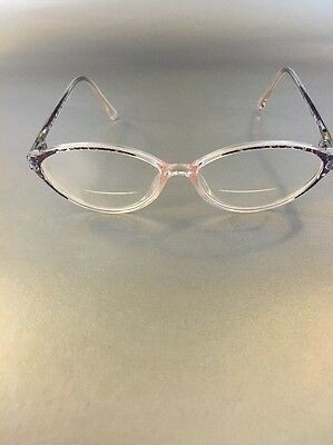 Silhouette SPX M1929/ EYEGLASSES Frame Made in Austria Gray/ translucent Pink
