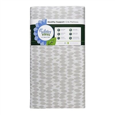 Lullaby Earth (Naturepedic) Super Lightweight Crib Mattress- Leaf (LE10/LE11)
