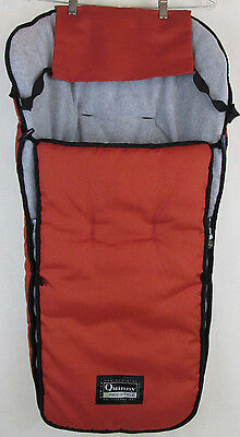 Quinny Freestyle Footmuff Stroller Accessory Orange Padded Cover FMF 103211