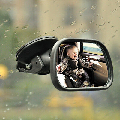 Car Child Baby Infant Inside Mirror Rear View Mirror Seat Safe Care +Suction Cup