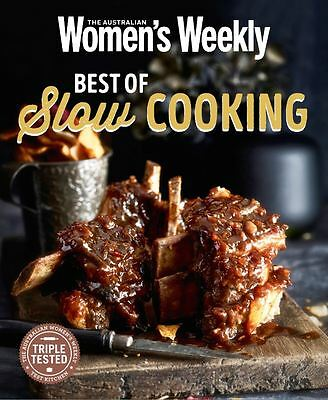 The Australian Women's Weekly BEST OF SLOW COOKING Cookbook Womens Cooker NEW
