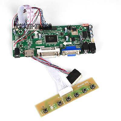 HDMI DVI VGA Audio LCD LED Controller Board For LP140WH2-TLB1 LP140WH2-TLE2 @AU