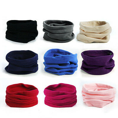 Polar Fleece Thermal Neck Warmer Gaiter Face Mask Snood Hat Scarf Bandana Eyeful