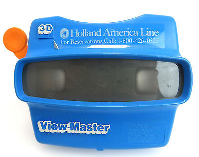 View Master 3D, Made in USA, Holland America Line, io012