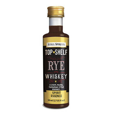 Free Shipping Still Spirits Top Shelf Rye Whiskey home brew spirit essence Makes