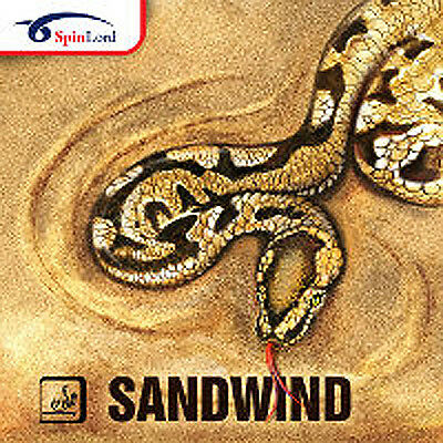 Spinlord Sandwind Half-Anti Antispin Table Tennis Rubber Official Uk
