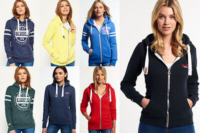 New Womens Superdry Hoodies. Various Styles & Colours