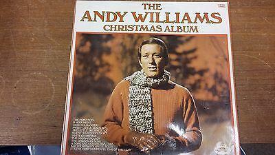 "The Andy Williams Christmas Album: Hallmark Records: 12"" LP Record"