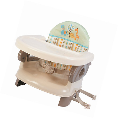 Summer Infant Deluxe Comfort Folding Booster Seat, Tan