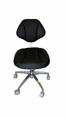 New PU Leather Medical  Dentist's Chair Doctor's Stool Adjustable Mobile Chair