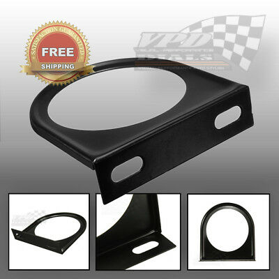 "Single gauge mounting plate panel bracket for 2"" 52mm gauge dash mount classic"