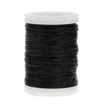 Fiber Bow String Serving Thread 120m for Bow String Archery Supplies Black