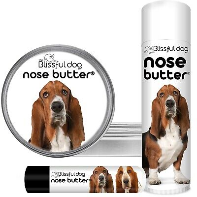 The Blissful Dog Basset Hound Nose Butter Treatment For Rough, Dry Dog Noses