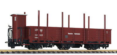 L 245400 Liliput H0E off. Goods Waggon 3-achs. with Steel MENTS