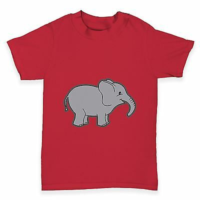 Twisted Envy Baby Elephant Baby Toddler Funny T-Shirt