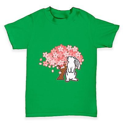 Twisted Envy Bunny Rabbit Blossom Baby Toddler Funny T-Shirt