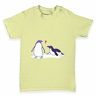 Twisted Envy Penguin Love Baby Toddler Funny T-Shirt
