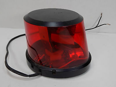 Code 3 Dash Laser Warning Beacon Light w/ Magnet MISSING BACK PIECE SEE PICS