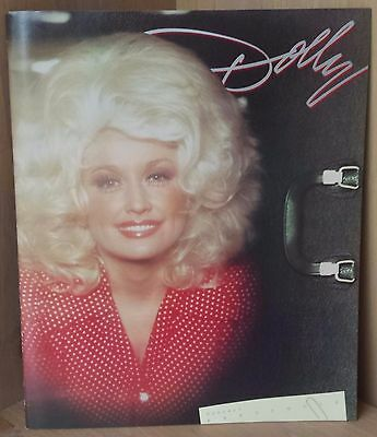 Dolly Parton Concert Portfolio / Vintage 1978 Tour Book 13 X 11 / Great Shape!