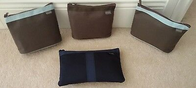 BRITISH AIRLINES BUSINESS CLASS LOt of 4 TRAVEL AMENITY KIT ELEMIS Skin Care NEW
