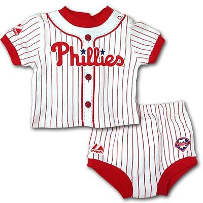 Philadelphia Phillies Baby Infant Jersey Diaper Shorts (FREE SHIPPING) 0-3 mo