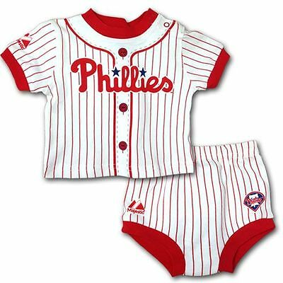 Philadelphia Phillies Baby Infant Jersey Diaper Shorts (FREE SHIPPING) 6-9 mo