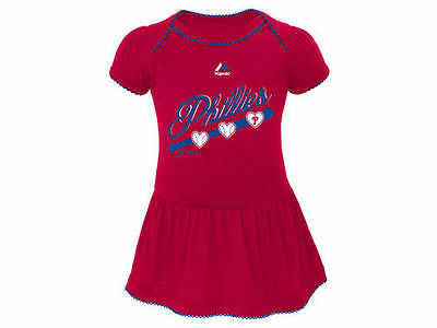 Philadelphia Phillies Baby Girl Dazzle Dress Skirt (FREE SHIPPING) 0-3 months