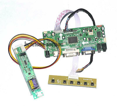 HDMI DVI VGA Audio LCD LED Controller Board For LP141WX3-TLA1 LP141WX3-TLB1 @AU