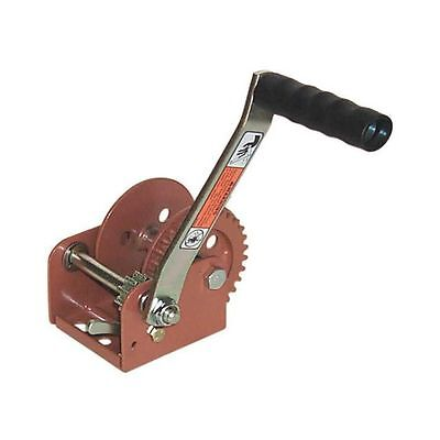Dutton-Lainson Hand Ratchet Winch, 900 lb, 3/16 in, 3.2:1 Gear