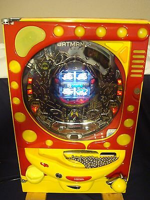 Batman Pachinko 4-Reel Machine - Very Rare - Excellent Condition - Very Clean