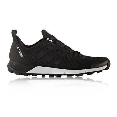 Adidas Terrex Agravic Speed Mens Black Trail Running Sports Shoes Trainers