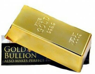Flerise 1kg 35oz Fake Gold Bar Bullion Door Stop/Paperweight CAS