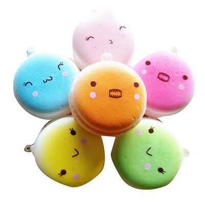 Squishy Bread Cell Phone Charm Bag Strap Pendant Kid Toy pretty F''