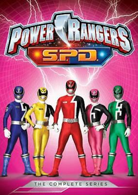 Power Rangers S.p.d.: The Complete Series New Dvd