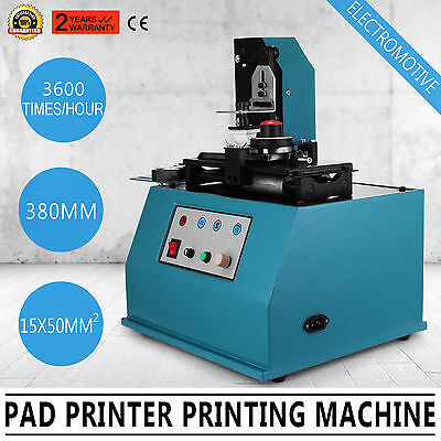 TDY-300C Pad Printer Printing Machine 3600times/hour Logo USA Stock PROFESSIONAL
