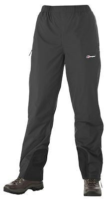 "Berghaus Womens Helvellyn Waterproof Trousers - Short 29"" Inch Leg - Black"