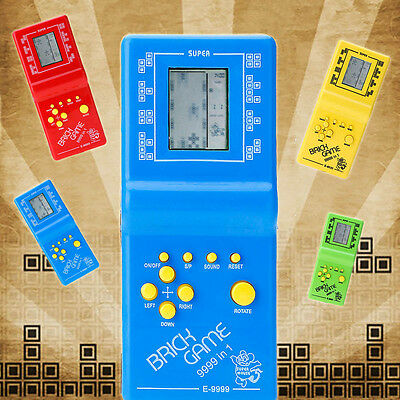 Retro Classic Brick Game Tetris Hand Held LCD Electronic Game Toy for Kids Child