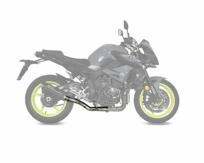 Sport exhaust manifold Mivv cat replacement pipe Yamaha MT 10 16-
