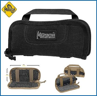 Maxpedition R-7 Black Razorshell Padded Pouch Knife Case 1453B