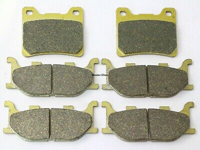 6 Brake Pads For Yamaha XVS 1100 V-Star Custom Classic