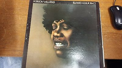 """Marion Williams: Blessed Assurance: Atlantic Records: 12"""" LP Record"""