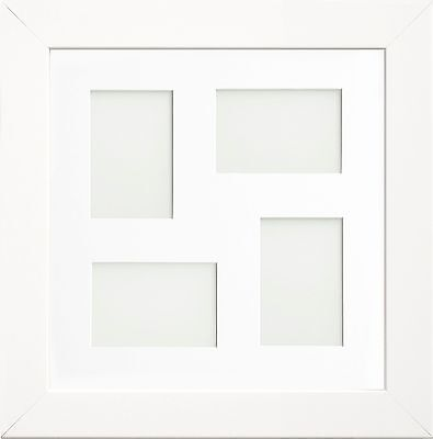 White Watson Multi Aperture Collage Picture Photo Frames Choice of Mount Design