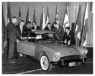 1961 Sunbeam Alpine LeMans ORIGINAL Factory Photo oub0357